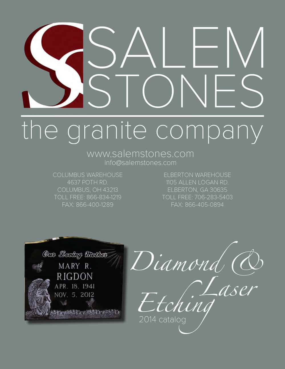 Salem Stones Engraving Catalog