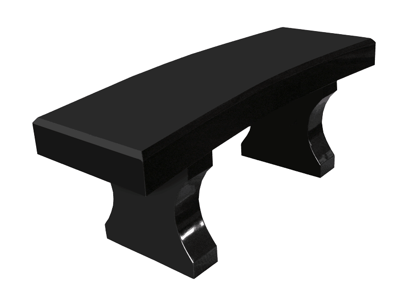 Bench Curved Top